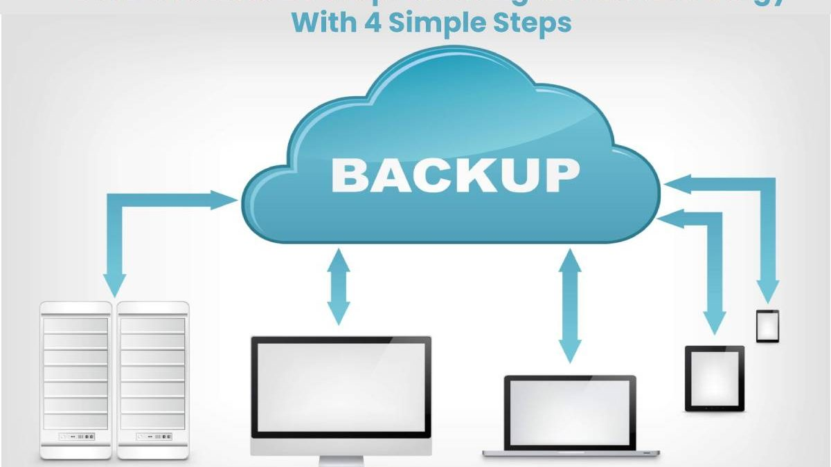 Business Data Backup: Creating a Robust Strategy With 4 Simple Steps
