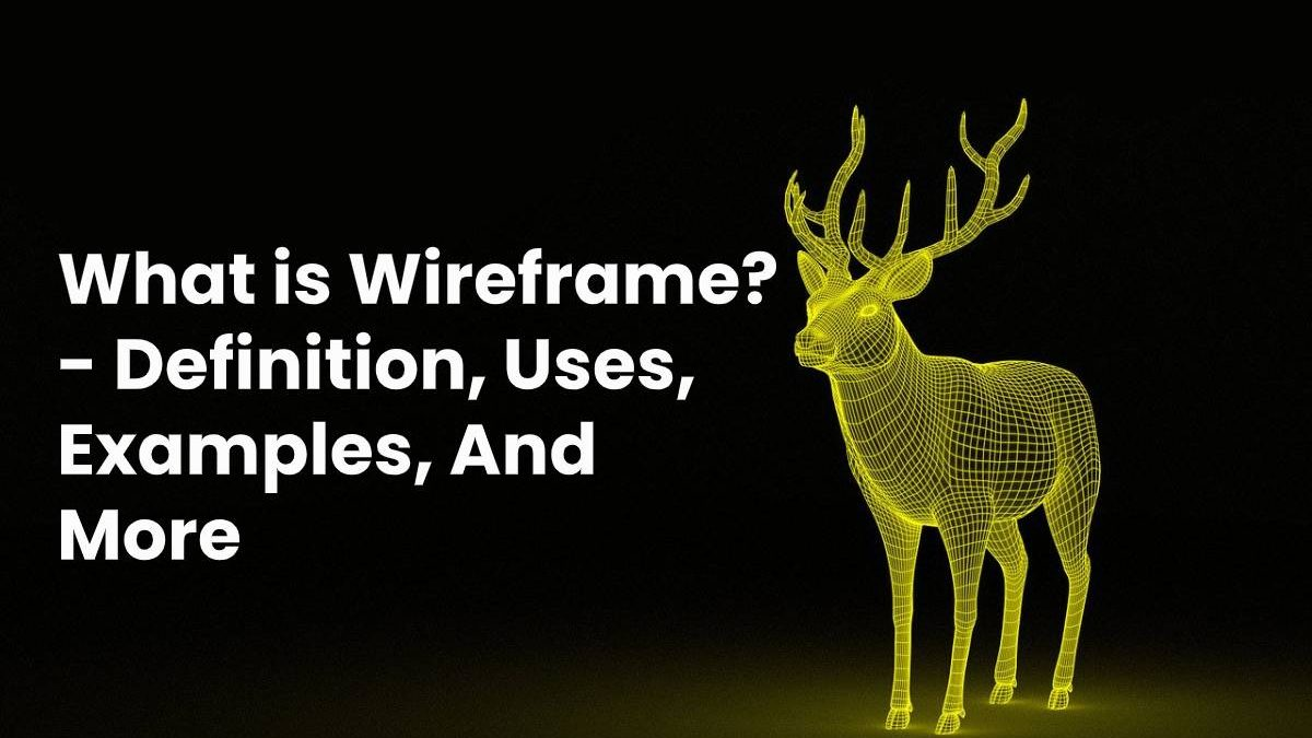 What is Wireframe? – Definition, Uses, Examples, And More