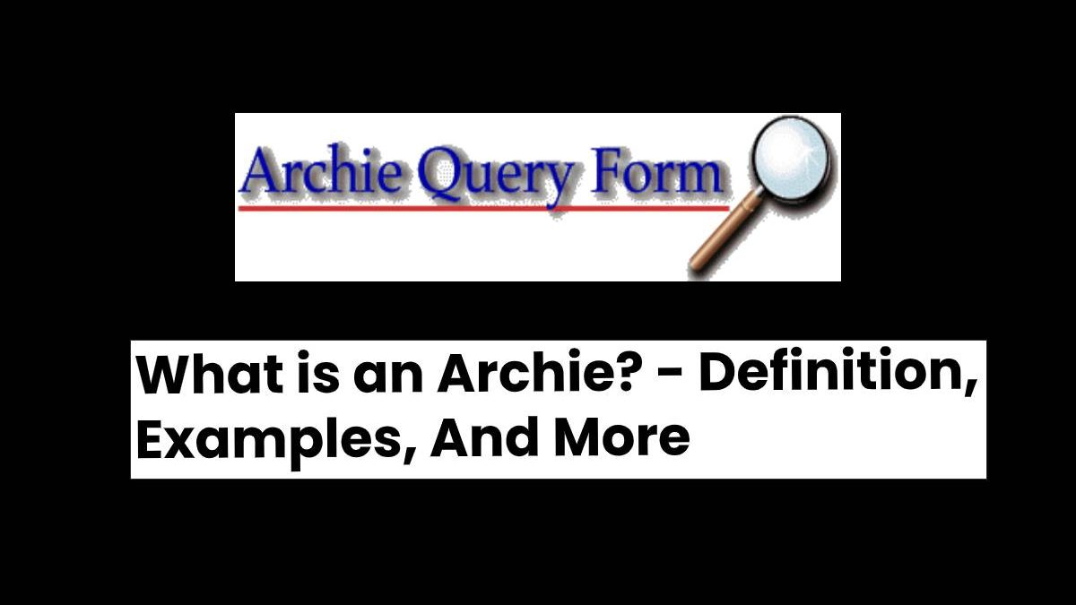What is an Archie? – Definition, Examples, And More