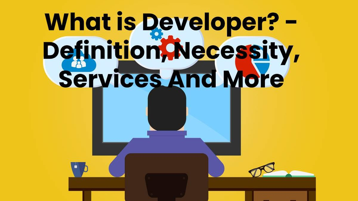 What is Developer? – Definition, Necessity, Services And More