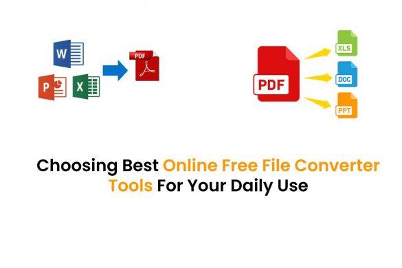 Online Free File Converter Tools