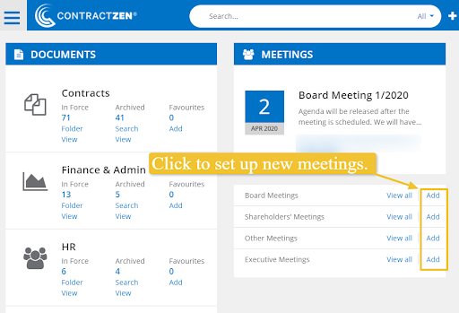 Online Meeting Portal