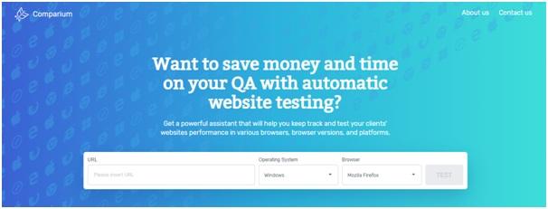 Ud Comparium: Automated Website Testing Tool