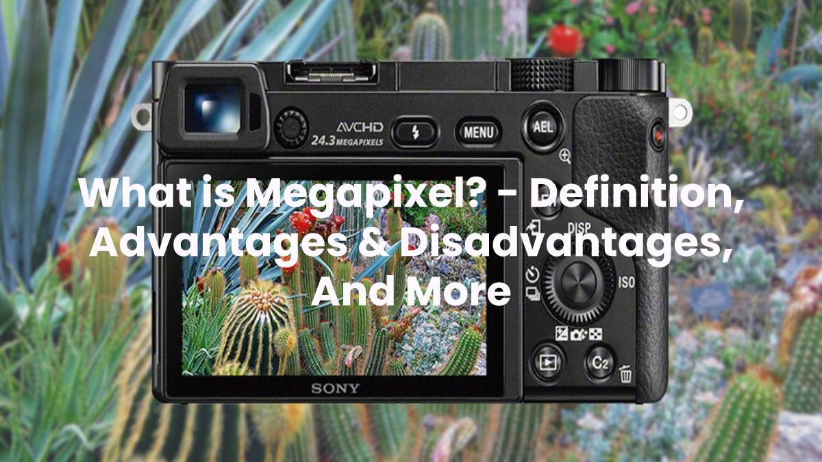 What is Megapixel? – Definition, Advantages & Disadvantages, And More