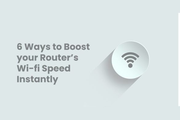 Boost your Routers Wi-fi Speed