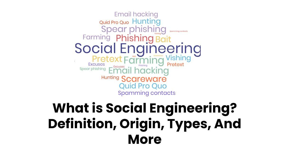 What is Social Engineering? – Definition, Origin, Types, And More