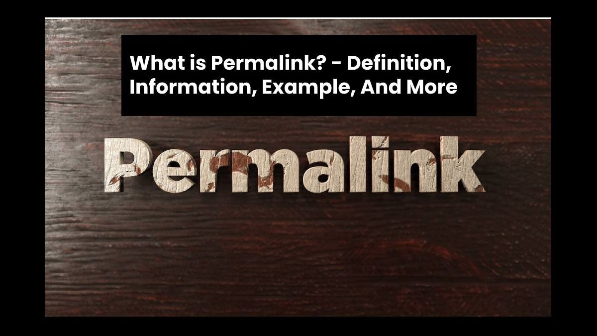 What is Permalink? – Definition, Information, Example, And More
