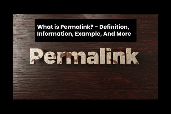 What is Permalink? - Definition, Information, Example, And More