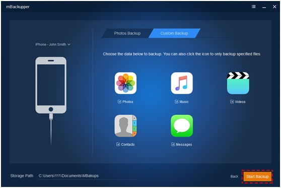 Get the Simplest and Best iPhone Backup Software