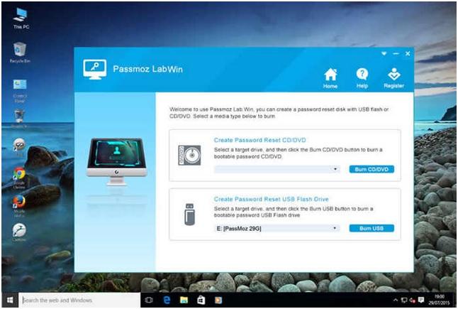 Using Windows 10 Password Reset Software Part 1