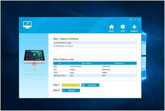 Using Windows 10 Password Reset Software Part 3