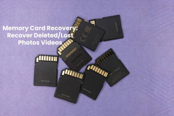Memory Card Recovery: Recover Deleted/Lost Photos Videos