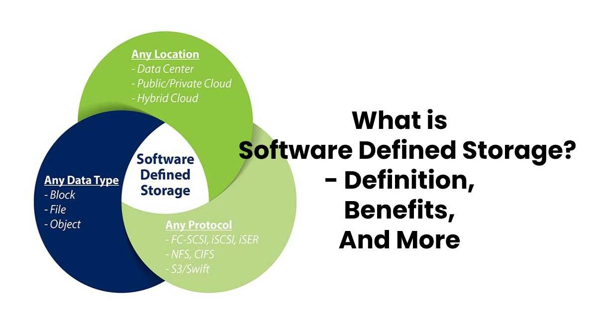 What is Software Defined Storage? – Definition, Benefits And More