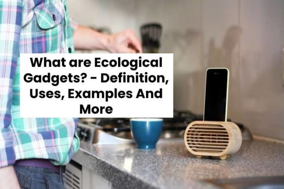 What are Ecological Gadgets? - Definition, Uses, Examples And More