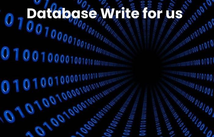 Database write for us