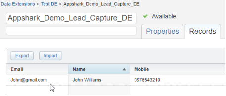 Demonstrating the Lead Capture via Smart Capture 3