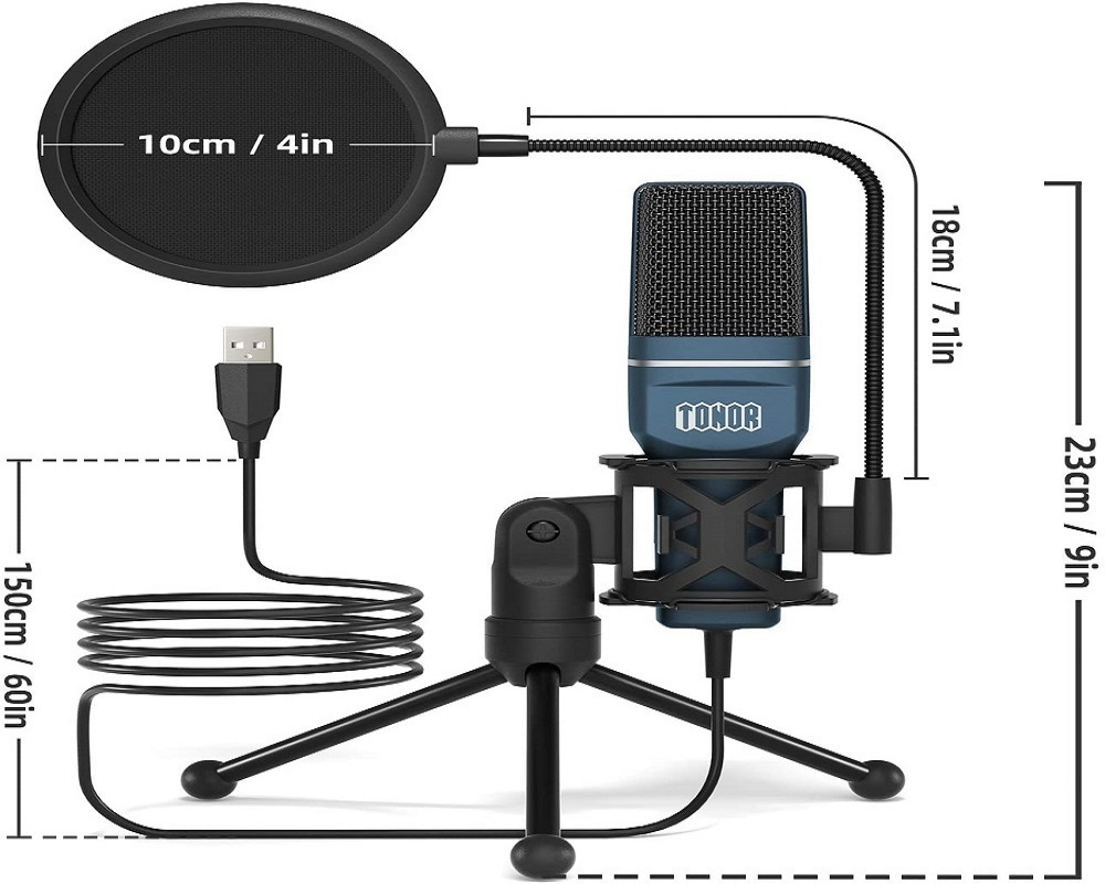 Features of TONOR TC-777 Microphone 2