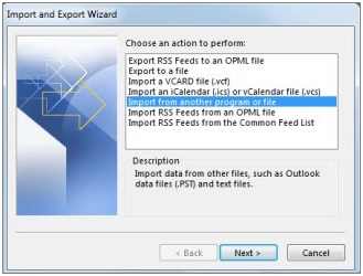 How to Import MBOX into Outlook 8