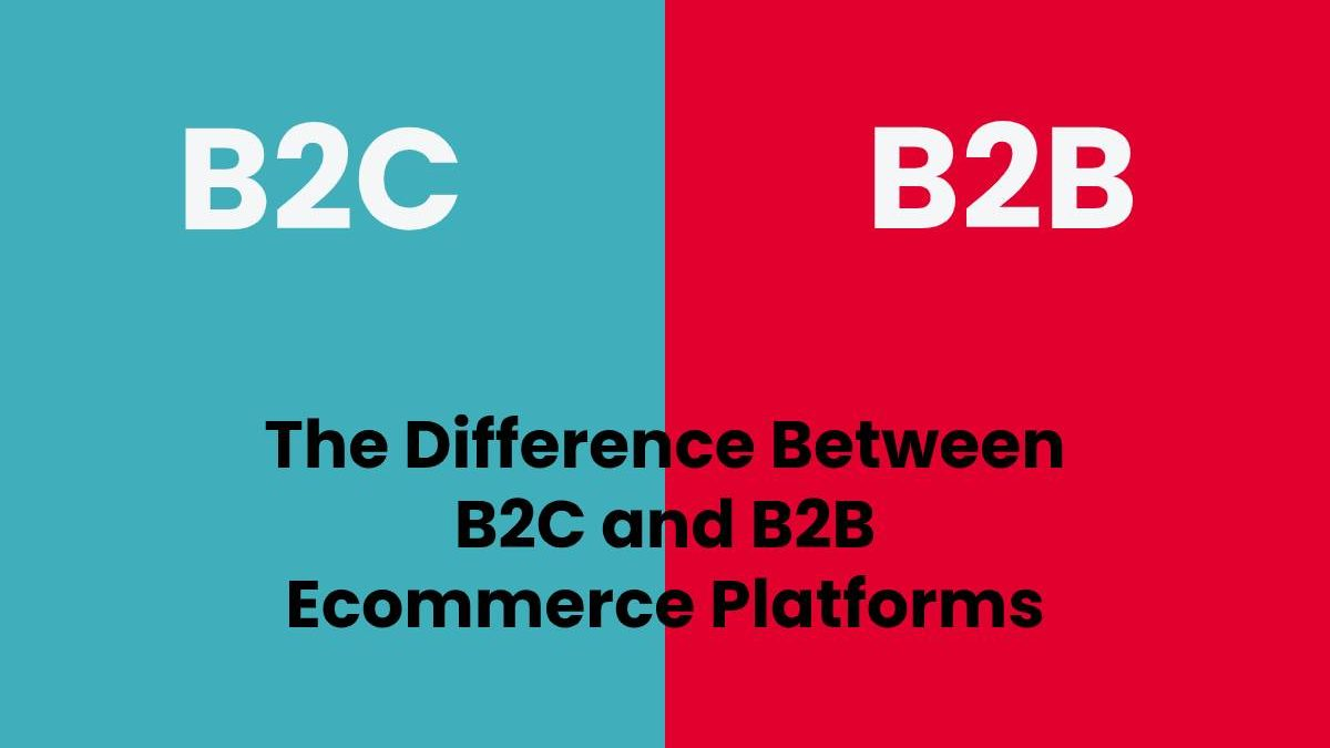 The Difference Between B2C and B2B Ecommerce Platforms