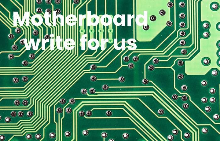 motherboard image