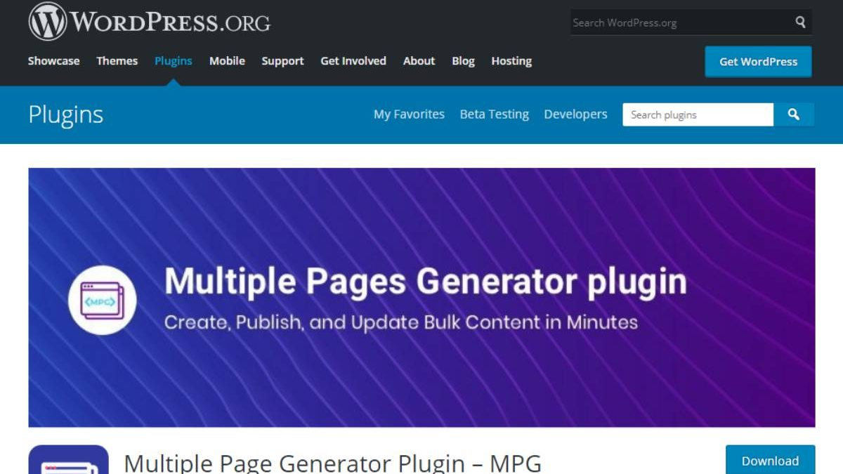 Creating Bulk WordPress Pages with Multiple Page Generator [MPG] – [2020]