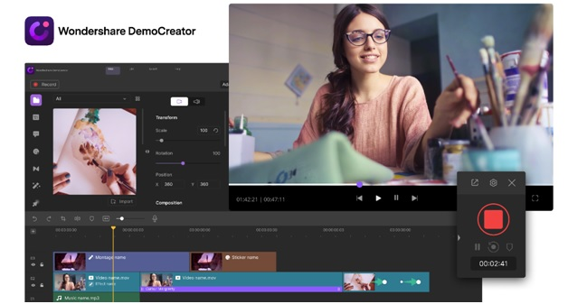 Capture and Edit Videos Effectively With Wondershare DemoCreator