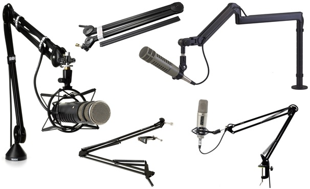 Different categories of Boom Arm 2
