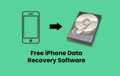 Free iPhone Data Recovery Software