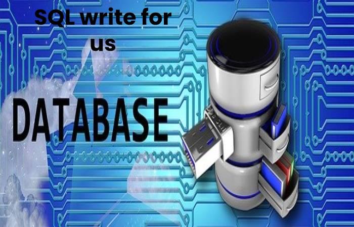 SQL write for us