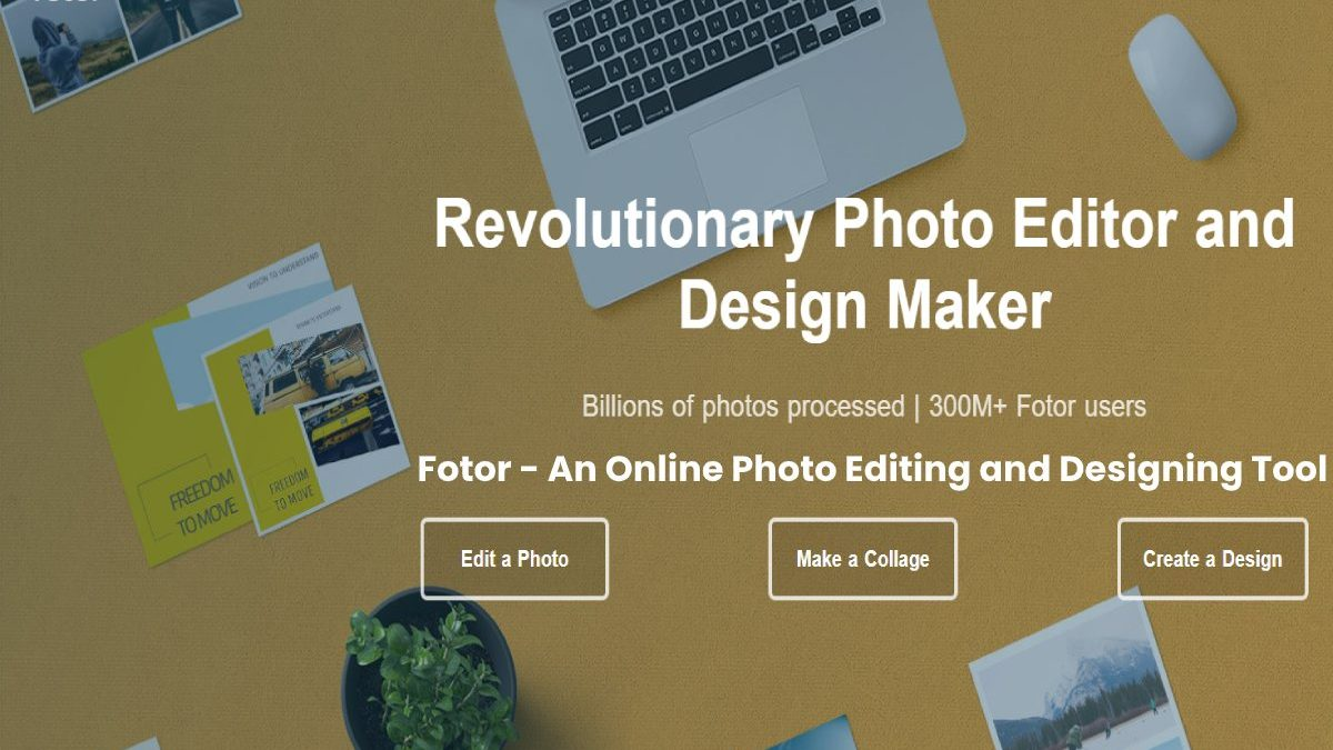 Fotor Review: An Online Photo Editing and Designing Tool