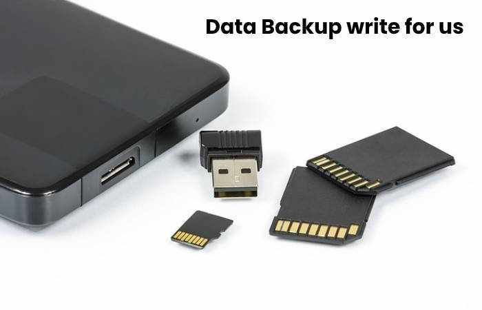 Data Backup write for us