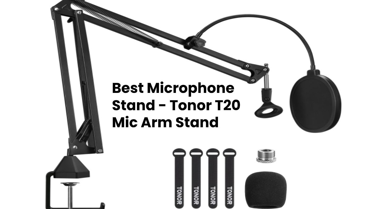 Tonor T20 Mic Arm Stand – Best Microphone Arm Stand
