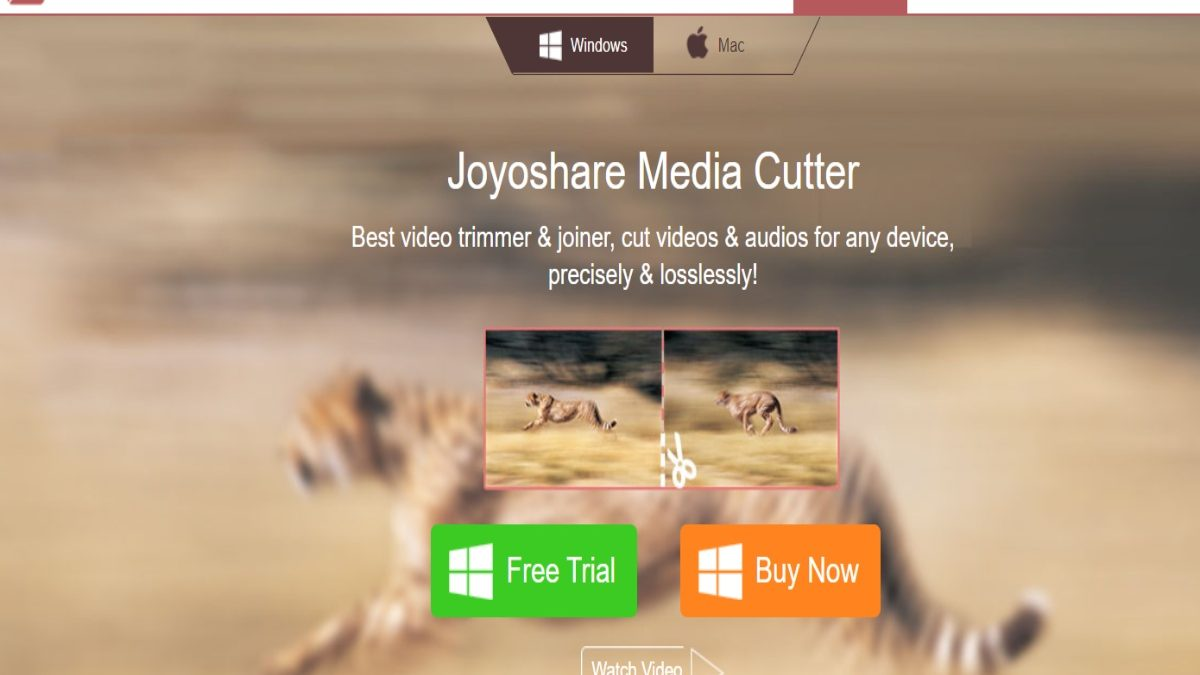 Joyoshare Media Cutter – The Best Video/Audio Cutter Software