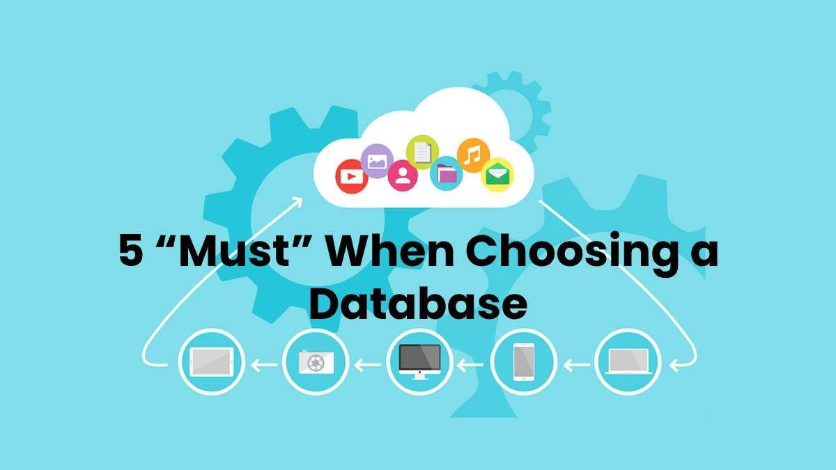 "5 ""Must"" When Choosing a Database"
