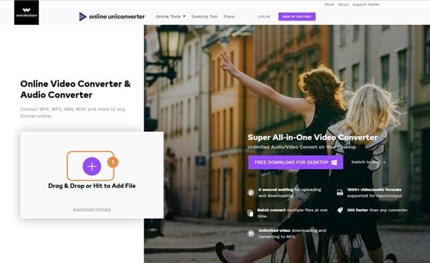 Steps To Compress File Online With Wondershare Videoconverter