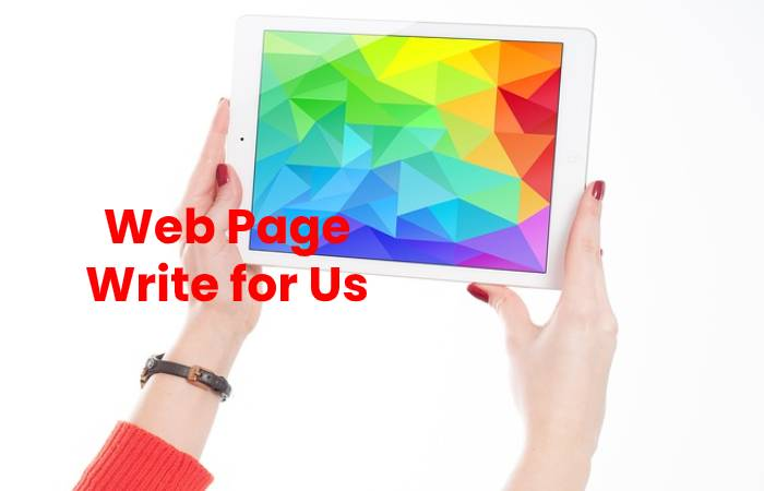 Web Page Write for Us