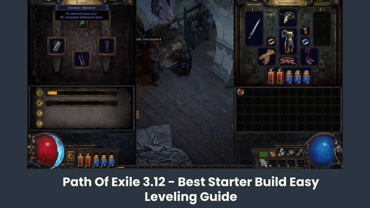 Path Of Exile 3.12 – Best Starter Build Easy Leveling Guide