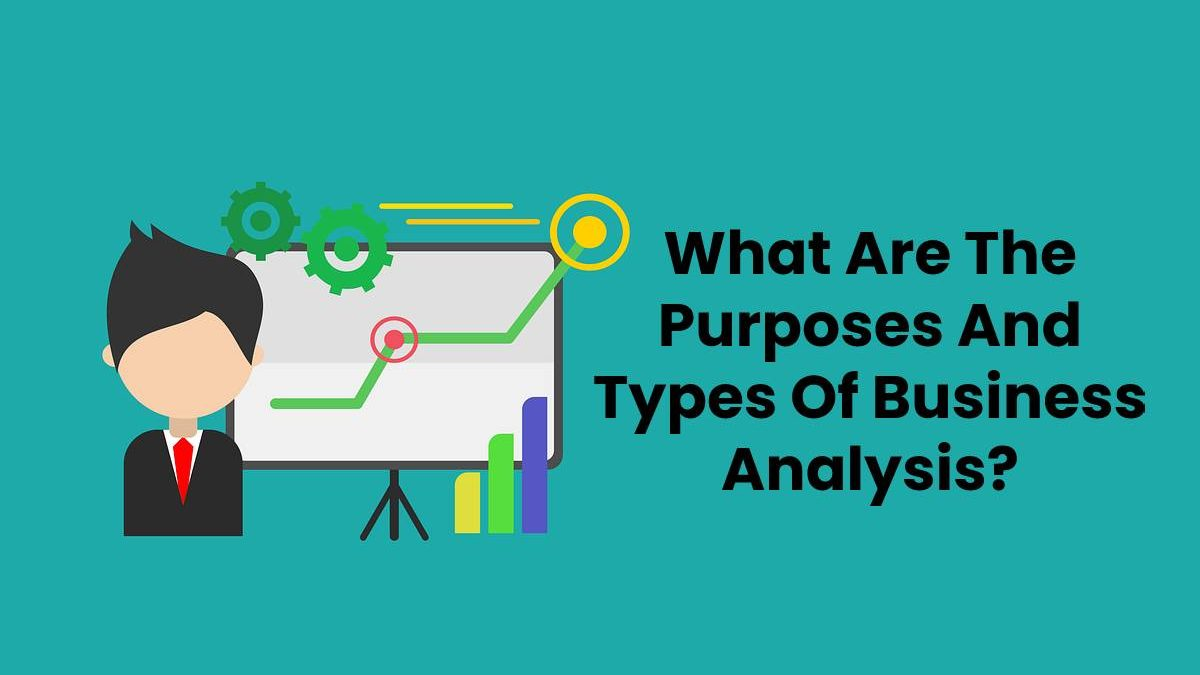 What Are The Purposes And Types Of Business Analysis?