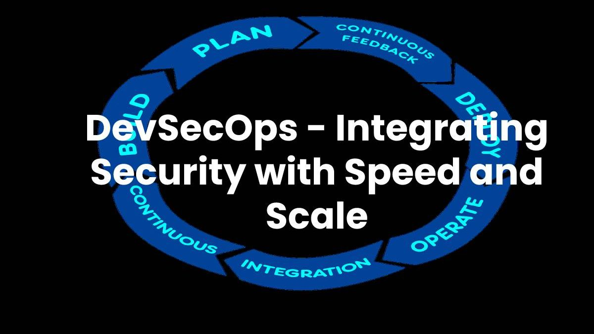DevSecOps – Integrating Security with Speed and Scale