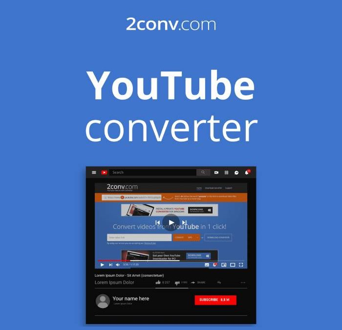 2conv – Free YouTube to Mp4 Converter