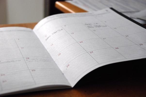 Stick to Schedule