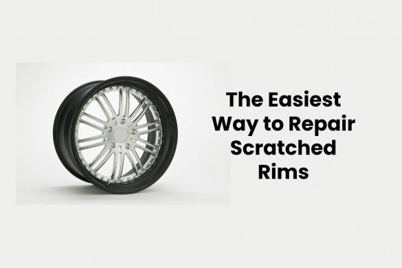 The Easiest Way to Repair Scratched Rims