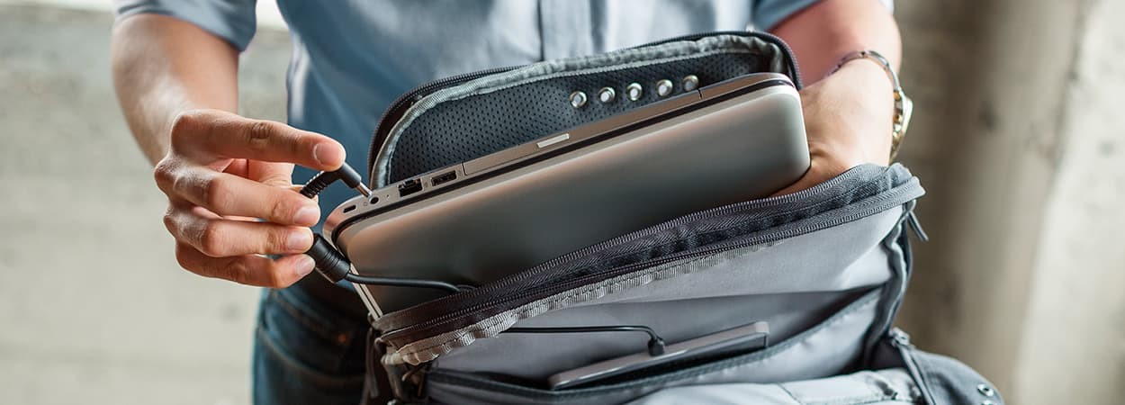 15-inch laptop bags are easier to carry: