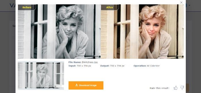 A Few Colorized Images by the AI Photo Colorizer