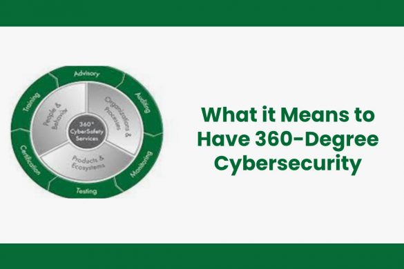 What it Means to Have 360-Degree Cybersecurity