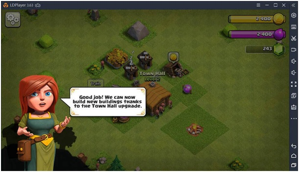 Clash of Clans on LDPlayer 1