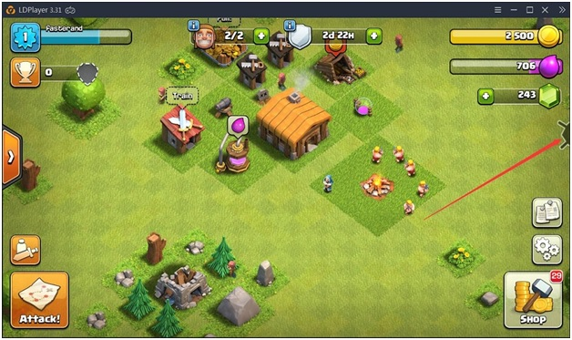Clash of Clans on LDPlayer
