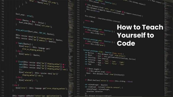 How to Teach Yourself to Code