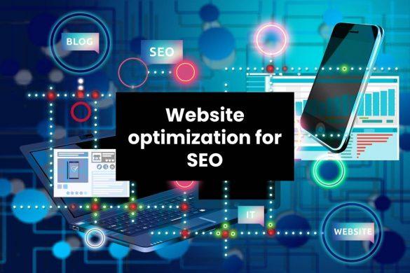Website optimization for SEO