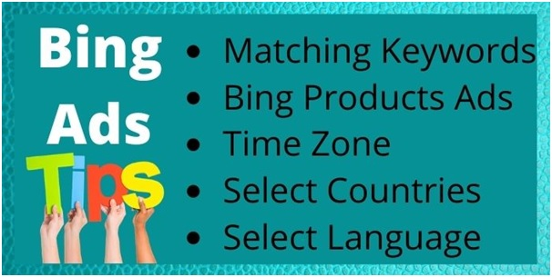 What is the bing ads tips?